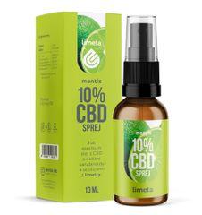 Mentis 10% CBD Limeta sprej