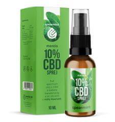 Mentis 10% CBD Peppermint sprej