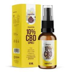 Mentis 10% CBD Vanilla sprej