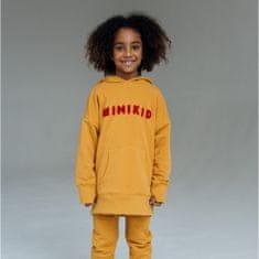 Minikid Mikina s kapucňou MUSTARD/Minikid-Minikid