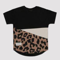 Minikid Chlapčenské tričko čierne LEO MINIKID-Minikid