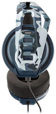 Przewodowe słuchawki do gier Nacon RIG 400 przetworniki 40mm, regulowany pałąk moro