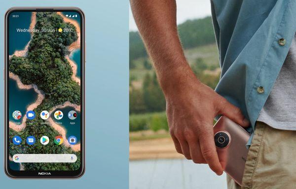 moderný mobilný dotykový telefón výkonný telefón luxusný výkon profesionálny fotoaparát smartphone Nokia X20 bluetooth 5.0 wifi nifc google assistant 4470 mah batérie lte sieť dual sim microSDXC karta hd+ displej kvalitný fotoaparát 64 + 5 + 2 +2 Mpx zadný fotoaparát 32 mpx predný fotoaparát zadný blesk android 11 štýlový dizajn elegantný telefón NFC platby 5G pripojenie 5G internet obrovské úložisko výkonný fotoaparát odomykanie tvárou čítačka odtlačkov prstov snímanie z viacerých uhlov súčasne Dual SIM