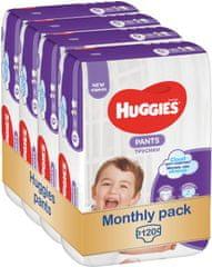 Huggies Pants Jumbo 6 (15-25 kg) 120 ks - Měsíční balení (4x30 ks)