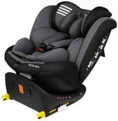 Play Autosedačka Revol Max 0-36 kg - Grey Wings