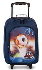 FABRIZIO Detský kufrík Soccer