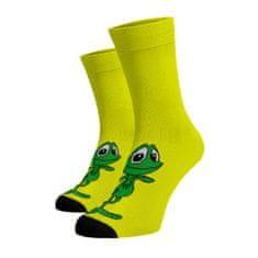 BENAMI Veselé ponožky Žabák Žlutá 33-34