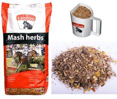 Lannoo Krmivo pro koně müsli MASH HERBS (XXL balení 20 kg)