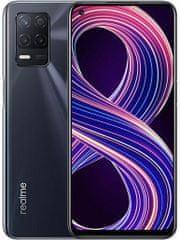 realme 8 5G pametni telefon, 6GB/128GB, Supersonic Black