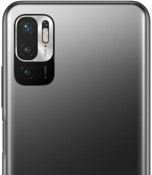 Xiaomi Redmi Note 10 5G, vysokový výkon, trojnásobný fotoaparát, čtyři objektivy makro objektiv hloubka ostrosti režim fotoaparátu noční režim portrétní režim