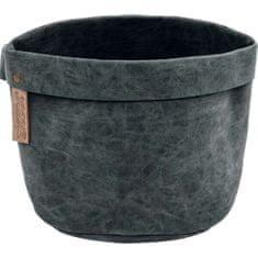 ZicZac Košík na pečivo Truman 20 cm, čierny