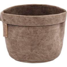 ZicZac Košík na pečivo Truman 20 cm, kávový