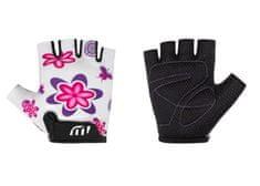 Wista Cyklistické rukavice WISTA dětské bílá