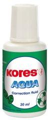 Kores Opravný lak Aqua 20 ml se štětečkem