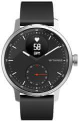 Withings ScanWatch hibridna pametna ura, 42 mm, črna