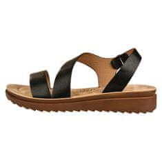 Verde Dámske sandále 28-3186 black