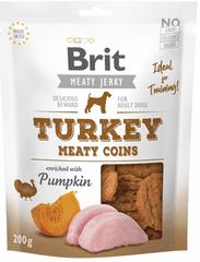 Brit przysmaki dla psów Jerky Turkey Meaty Coins 200g