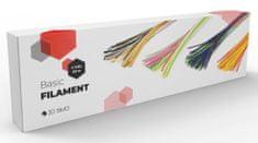 3Dsimo filament 60m (Basic)- PCL różne kolory (4 tuby)