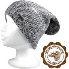 Fuski - Boma čepice Meriva Barva: šedá/stříbrná, Velikost: uni