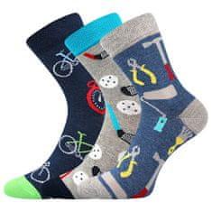 Fuski - Boma ponožky 057-21-43 10/X Barva: mix A - kluk, Velikost: 20-24 (14-16)