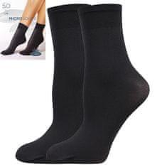 Fuski - Boma ponožky MICRO socks 50 DEN Barva: nero, Velikost: uni