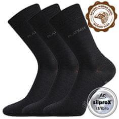 Fuski - Boma ponožky Dewool Barva: Černá, Velikost: 35-38 (23-25)