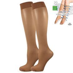Fuski - Boma podkolenky RELAX knee-socks 20 DEN Barva: beige, Velikost: uni