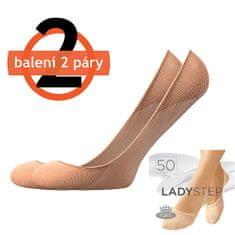 Fuski - Boma ťapky LADY step 50 DEN / 2 páry Barva: beige, Velikost: uni
