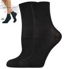 Fuski - Boma ponožky COTTONsocks 60 DEN Barva: nero, Velikost: 35-38 (23-25)