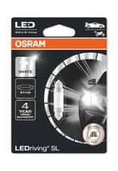 Osram C5W Osram LEDriving® SL White 6.000°K (1 ks) - 41mm, 12V, 0,8W, SV8.5-8 - (6413DWP-01B)