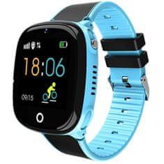 Wotchi Dětské Smartwatch HW11 s GPS a fotoaparátem - Blue
