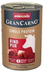 Animonda karma dla psów GRANCARNO Single Protein - wołowina 6 x 400g