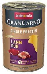 Animonda karma dla psów GRANCARNO Single Protein - jagnięcina 6 x 400g