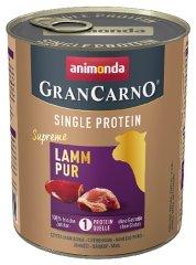 Animonda karma dla psów GRANCARNO Single Protein - jagnięcina 6 x 800g