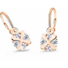 Cutie Jewellery Czułe dzieciKolczyki różowego złota C2753-10-X-4