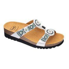 Scholl Zdravotní obuv - NEW BOGOTA`SatinBds-W - Silver/Multi