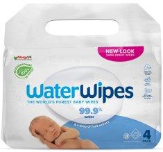 WaterWipes 100% BIO odbouratené ubrousky 4x 60 ks