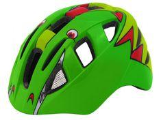 Wista Dětská cyklistická přilba KITTY zelená
