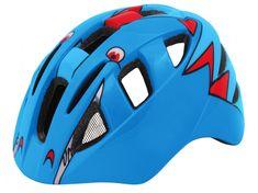 Wista Dětská cyklistická přilba KITTY modrá