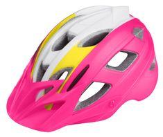 Wista Dětská cyklistická přilba JOKER růžová/bílá