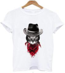 BrinX.cz Cowboy Cat - nové dámské tričko