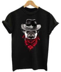 BrinX.cz Cowboy Dog - nové dámské tričko