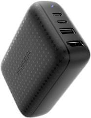 Hyper Drive 60W USB-C Power Hub - GaN nabíjecí adaptér a HDMI hub HY-HDNS-60-Black, černá