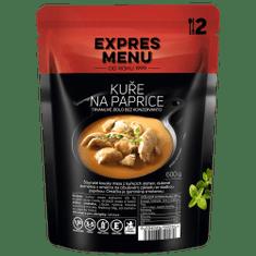 Expres Menu Kuře na paprice 2 porce EXPRES MENU 600 g