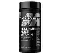 MuscleTech Platinum Multivitamín 90kapsúl