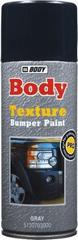 HB BODY  Bumper paint sprej čierny štruktúrovaný/textúrový 400ml - jednozložkový sprej na obnovenie vzhľadu nárazníkov