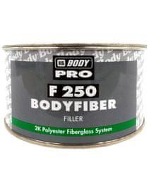HB BODY Fiber 250 750g + tužidlo - dvojzložkový polyesterový tmel so skleným vláknom na veľké nerovnosti
