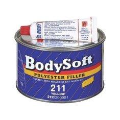 HB BODY Soft 211 2K Polyester Filler béžový 2kg + tužidlo - dvojzložkový plniaci tmel