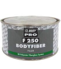 HB BODY Fiber 250 1,5kg + tužidlo - dvojzložkový polyesterový tmel so skleným vláknom na veľké nerovnosti