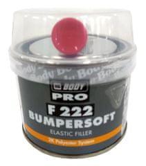 HB BODY  222 Bumpersoft čierny 250g + tužidlo - dvojzložkový polyesterový tmel